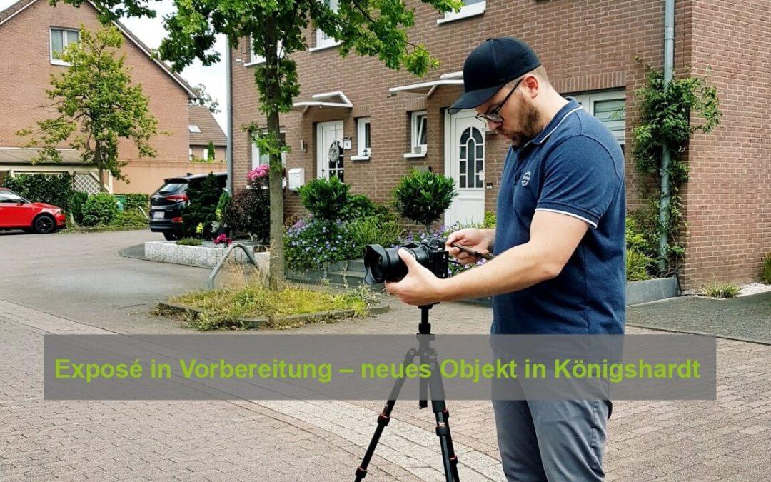 Neues Objekt in Oberhausen Königshardt – heute Fototermin