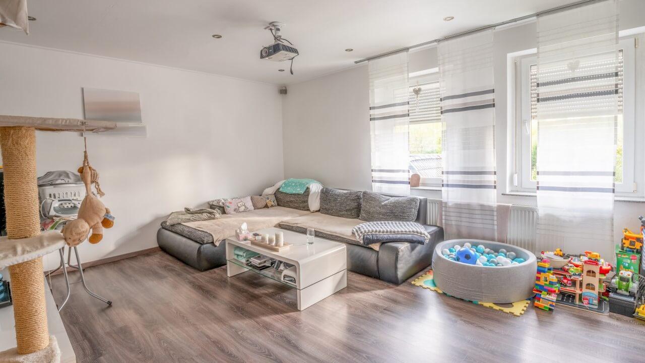 Immobilie zu verkaufen Bottrop Eigen Wohnzimmer