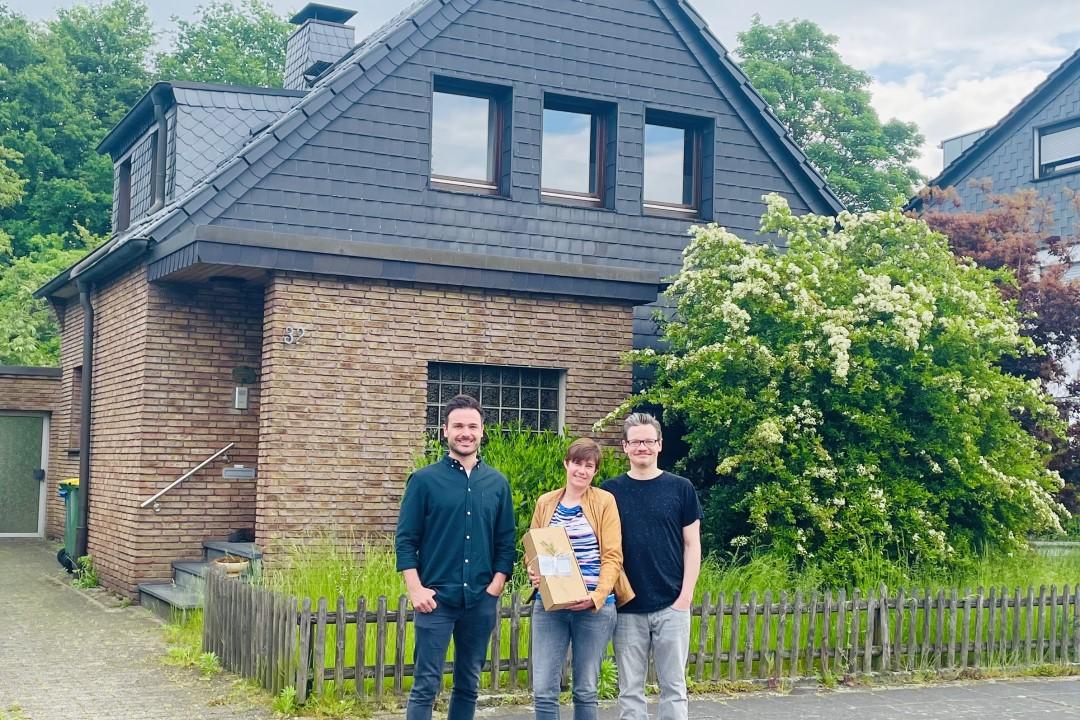 Paar kauft Haus in Oberhausen